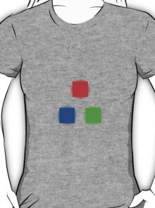 RBG Glowing Pixels T-Shirt