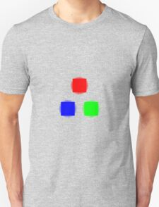 RBG Glowing Pixels Unisex T-Shirt