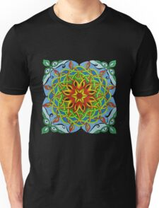 Fire Renewal Mandala Celtic Knot Unisex T-Shirt