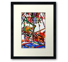 Whirligig Top Framed Print