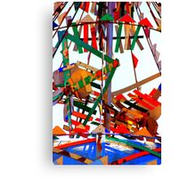 Whirligig Top Canvas Print