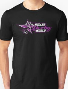 Rollerderby World Merch Unisex T-Shirt