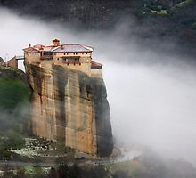 Roussanou Monastery, Meteora by Hercules Milas