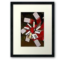 Letter B Framed Print
