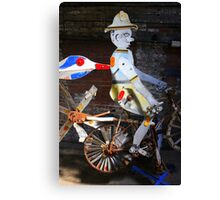 Bicycle Man Canvas Print
