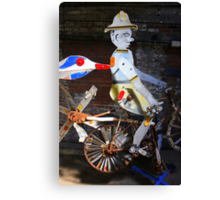 Bicycle Man Canvas Print
