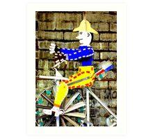 Tricycle Man Art Print