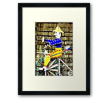 Tricycle Man Framed Print