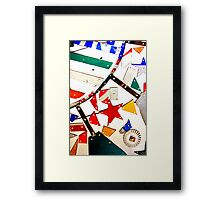 Whirligig Up Close Framed Print