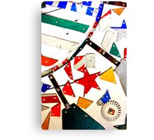 Whirligig Up Close Canvas Print