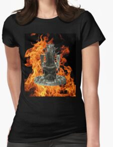 Demon Throne  Womens Fitted T-Shirt