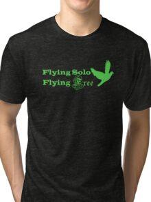 Flying Solo Flying Free Tri-blend T-Shirt
