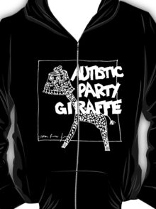 Autistic Party Giraffe - White T-Shirt