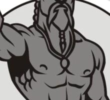Techno Viking Sticker
