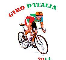 Giro d'Italia cycle by Matthewm140
