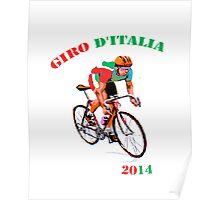 Giro d'Italia cycle Poster