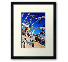 Whirligig Park Framed Print