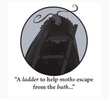 A Ladder for Moths - IT Crowd Quotes by Dashurie