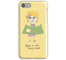 Lujza is not very smart iPhone Case/Skin