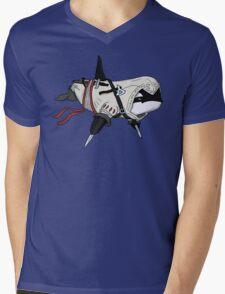 Master Killer Whale Mens V-Neck T-Shirt