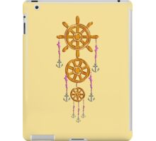 Anchor and Wheel Dream Catcher iPad Case/Skin