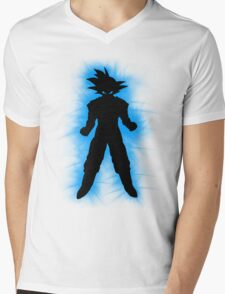 Goku Mens V-Neck T-Shirt