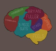 The brain of a Hannibal Fan by woodian