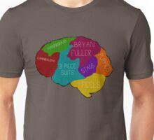 The brain of a Hannibal Fan Unisex T-Shirt