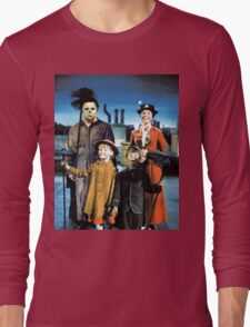 Michael Myers in Mary Poppins Long Sleeve T-Shirt