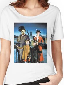 Michael Myers in Mary Poppins Women's Relaxed Fit T-Shirt