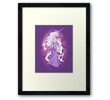 The Last Unicorn in the World Framed Print