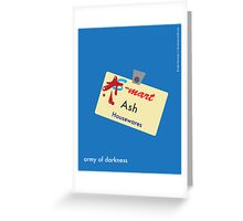 Ash Housewares Minimalist Greeting Card