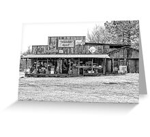 Trading Post, Arkansas Greeting Card