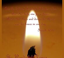 The Light of Israel by aprilann