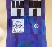 TARDIS collage by Azamantha