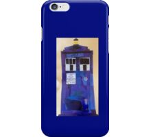 TARDIS collage iPhone Case/Skin