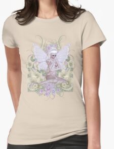 Flower Faerie Womens Fitted T-Shirt