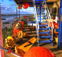 Mersea Buoys  by Nigel Bangert