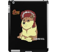 Diamond Doge (sans Comic Sans) iPad Case/Skin