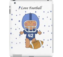 I Love Football Baby iPad Case/Skin