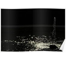 Water in the dark Poster