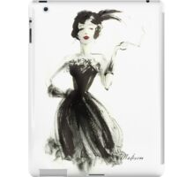 Feathered and flirting iPad Case/Skin