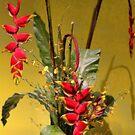 USA. Philadelphia Flower Show 2014. Exotic Bouquet. by vadim19