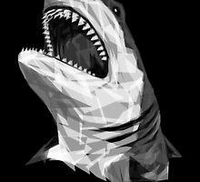 Geometric Shark by JoeConde