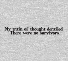 My train of thought derailed. There were no survivors by digerati