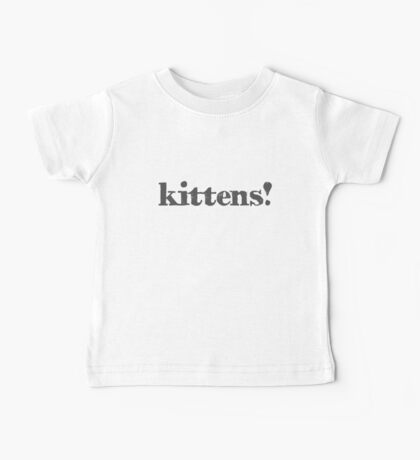 Kittens! Kids Clothes
