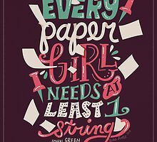 Paper Towns: Paper Girl by Risa Rodil