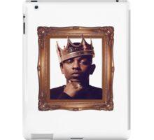 """""""King Kendrick"""" - Good Kid, m.A.Ad City iPad Case/Skin"""