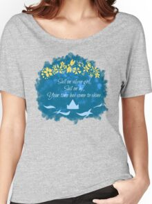 Bridge over Troubled Water Women's Relaxed Fit T-Shirt