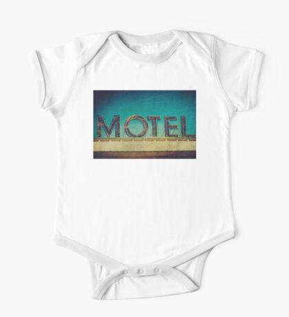 Vintage Motel Sign One Piece - Short Sleeve